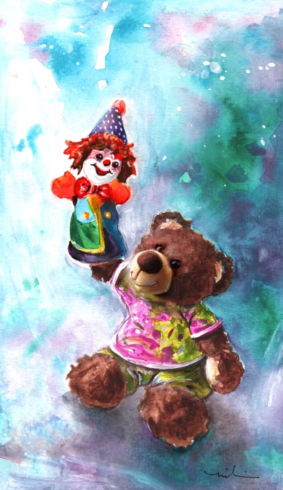A Birthday Clown For Miki S