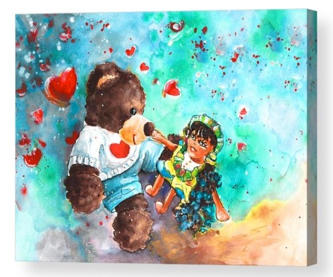 Go Teddy Acrylic Print