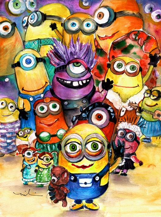 The Invasion Of The Minions S
