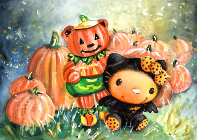 vampiretta-and-teddy-pumpkin-s
