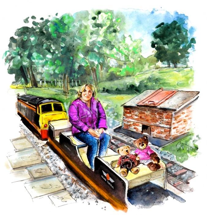 Newby Hall Little Train S