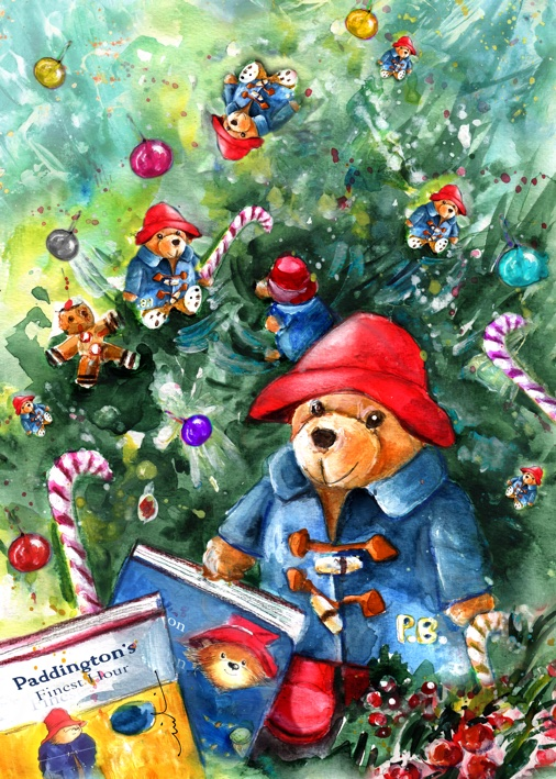 Upside Down Christmas With Paddingtons S