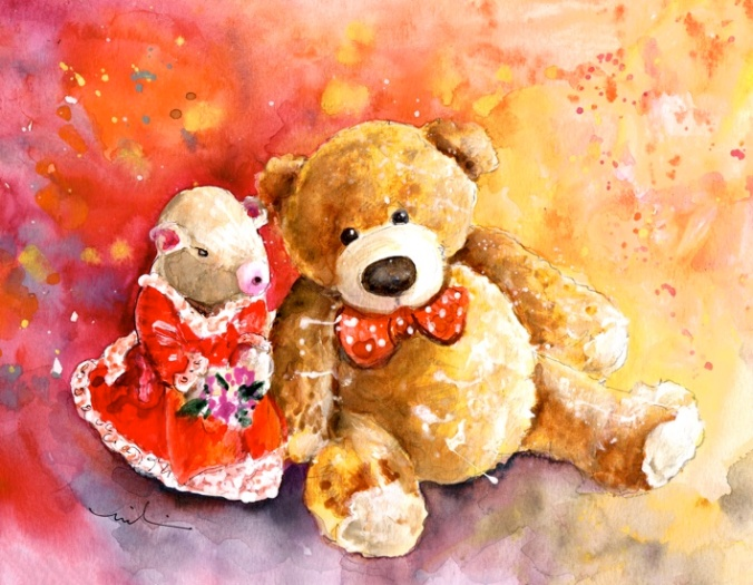 A Mouse And A Bear In Love S
